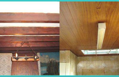 Rénovation poutre et plafond...