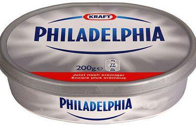 750 g et le fromage Philadelphia