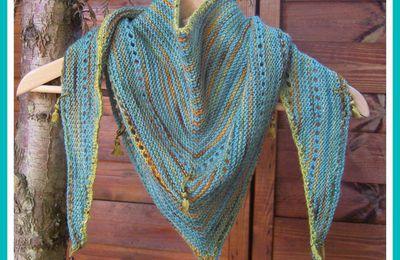 chèche au tricot (tutoriel gratuit - DIY)
