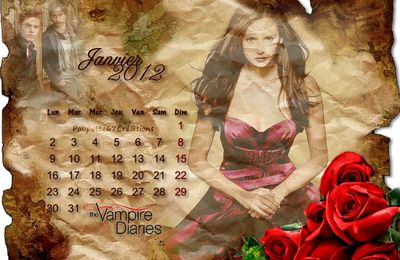Calendrier The Vampire Diaries