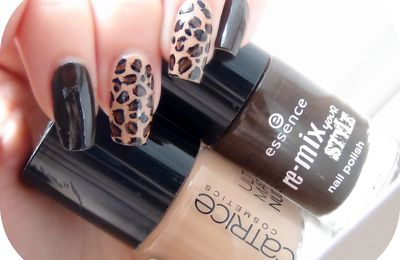 Brown Leopard by Catrice and Essence + Vacances...