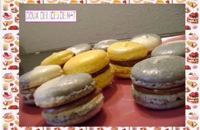 Macarons au nutella ou spéculos :
