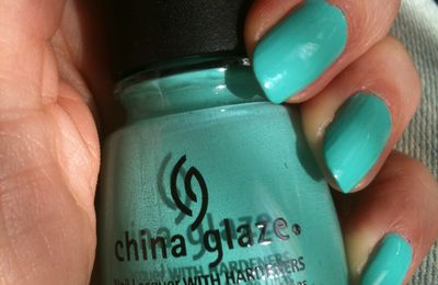 China Glaze : Aquadélic!!!