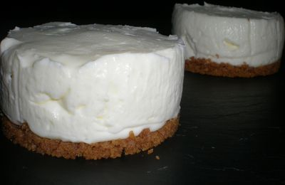 Cheese Cake mascarpone sans cuisson