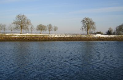Saint-Valery, l'hiver