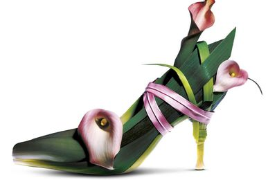 Stine Heilmann et ses Botanic Shoes
