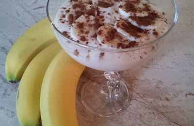 Dessert express à la banane