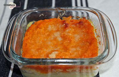 Gratin de potimarron, pomme de terre et parmesan (Culino Versions)