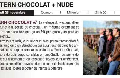 Western Chocolat en concert, on remet ça!