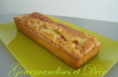 cake boursin / jambon