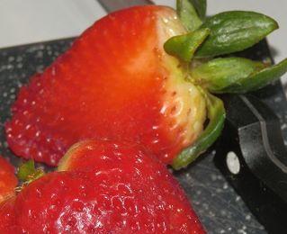 fraisier au chocolat