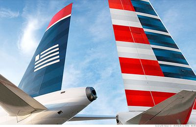 Fusion officielle d'American et US Airways