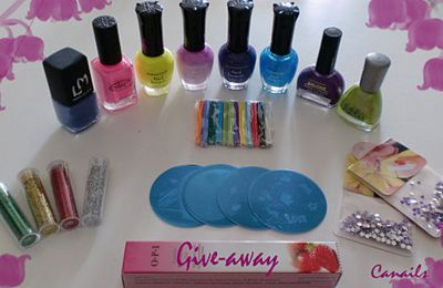 Giveaways : Ca-Nails