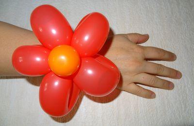 ballons : fleurs
