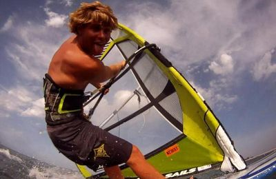 Interview Pierrick Contal ,Windsurfeur Pro de l'île de Ré!