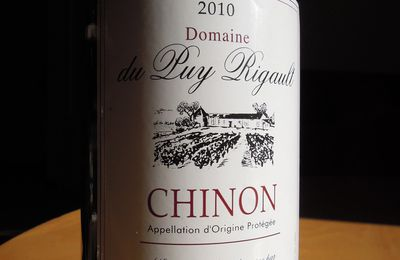Chinon 2010 Puy Rigault
