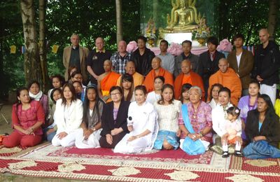 Ceremony of 13th anniversary of Wat Thai Dhammaram