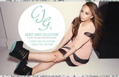 Chloe Green lance sa collection de chaussures
