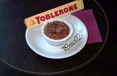 Fondant au Toblerone