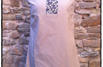 Robe encolure Liberty