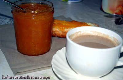 Confiture de citrouille/orange