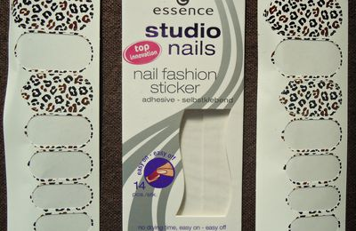 essence nail fashion sticker