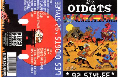 les oidgts - 92 stylee - criminel - cassette Black & Noir Records / Mélodie distribution - 1992 -