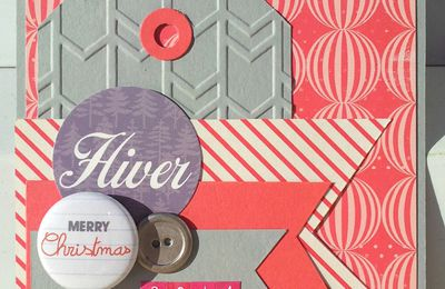 Challenge combo carterie de janvier sur So Scrap & Fun...