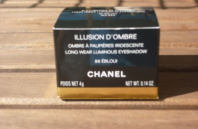 Collection Illusions d'ombres, Chanel!