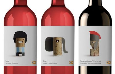 #Packaging : Delhaize: Wines of the World