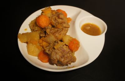 Sauté de veau à l'orange et patate douce