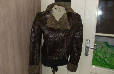 Ma veste en peau lainée (burda)