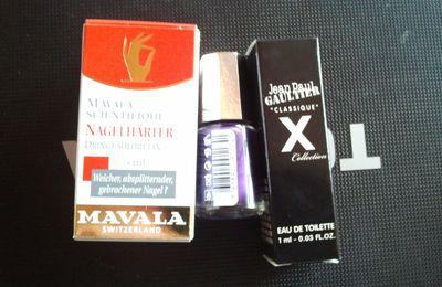 Mes derniers achats Mavala