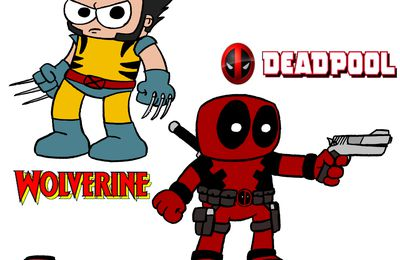 Fan-art Wolverine et Deadpool
