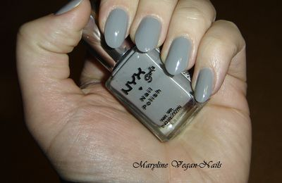 Perfect gray by NYX + déco