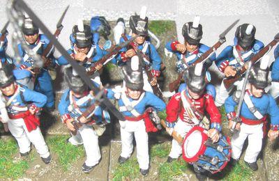 Le Wargame avec figurines et la guerre de 1812