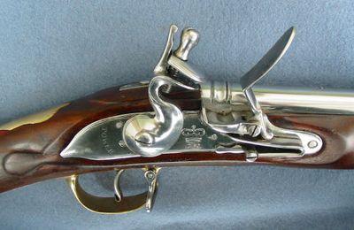 Le mousquet BROWN BESS dans la guerre de 1812
