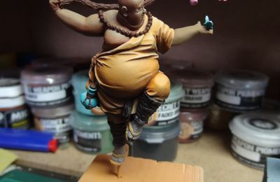 WIP - Happy Monk
