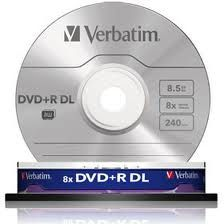 Verbatim Dvd+r 8.5GB Doublelayer