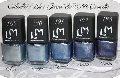 Collection Blue Jeans LM Cosmetic + Slim