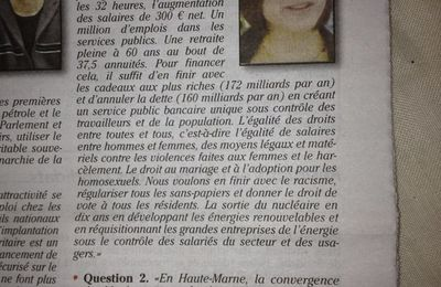 Article du Journal de la Haute-Marne (07/06/2012)