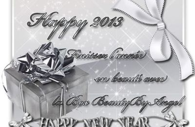 "Beauty Box ""Happy 2013"""