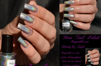 Mini Nail Polish Holographique