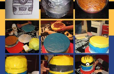 Anniversaire Minion : le gâteau (article 4/6)