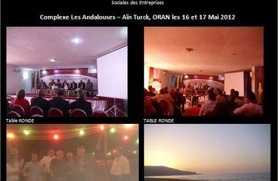 Communication de A. BOUGUERBA, dirigeant de MaghrebRH à la 14e Université de Printemps de l'IAS, Les Andalouses, le 16 et 17 mai 2012, Oran