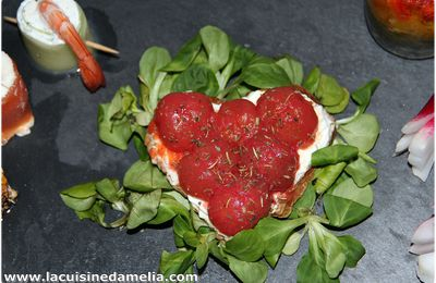 Tarlette aux tomates cerises