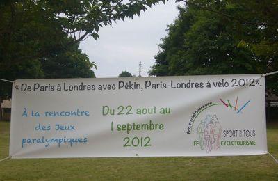 Arc en Ciel Aventure-Paris-Londres 2012 (Sur la route des Jeux Paralympiques)