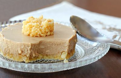 Cheesecakes au café - sans cuisson