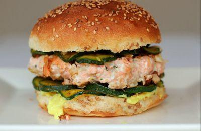Burgers saumon-curry, comme je les aime