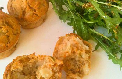 Muffins carotte-oignon